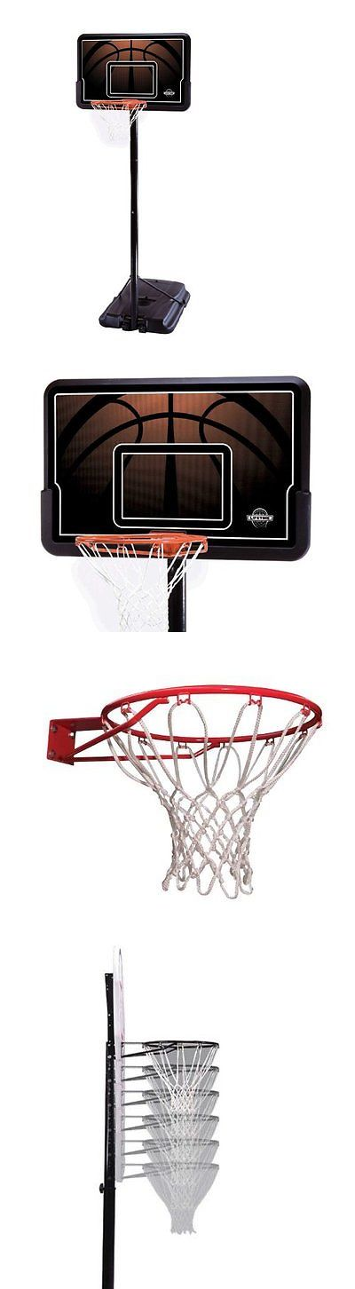 Backboard Systems 21196: Lifetime 90040 Height Adjustable Portable Basketball System, 44 Inch Backboard -> BUY IT NOW ONLY: $174.0 on eBay!