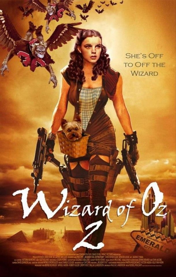 Dorothy Gale as Witch Assassin. If Frank Baum wrote Urban Fantasy today.