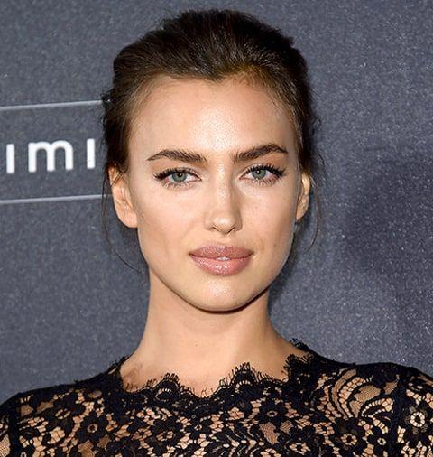 Irina Shayk - natural makeup