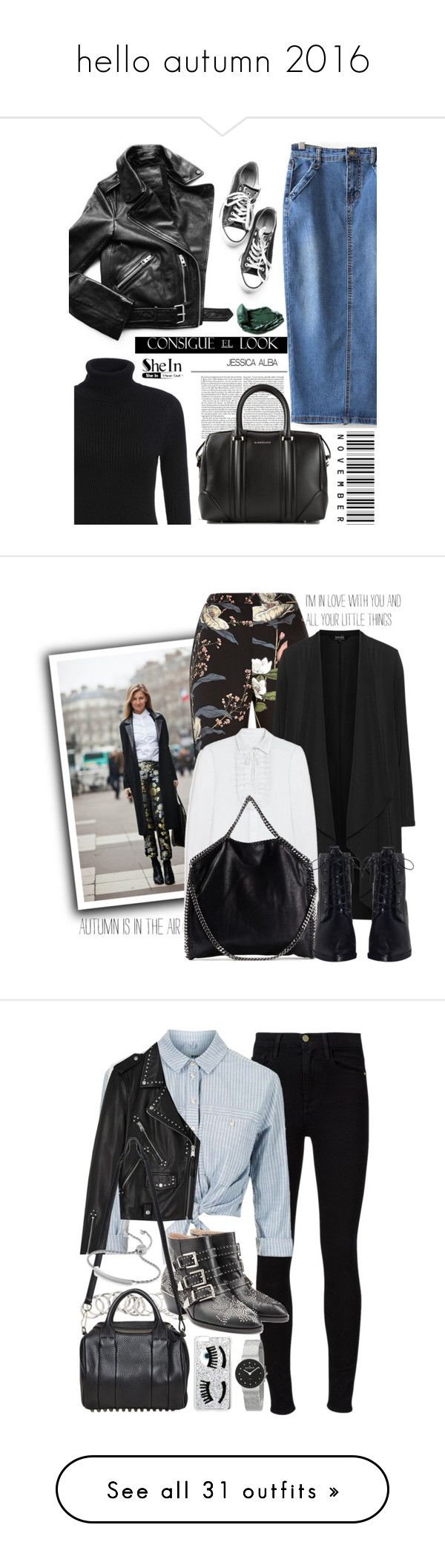 """""""hello autumn 2016"""" by polinachaban ❤ liked on Polyvore featuring Givenchy, Rossetto, River Island, navabi, Mulberry, STELLA McCARTNEY, Zimmermann, Frame Denim, Topshop and AllSaints"""