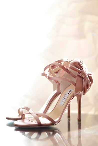 Jimmy Choo's in blush                                                                                                                                                      Mais