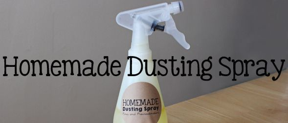 If you like this post, you should also check out Homemade Febreeze and Homemade Green Window Cleaner.Wouldn't it be great if everyone had the time and energy to dust all the surfaces in their home ...