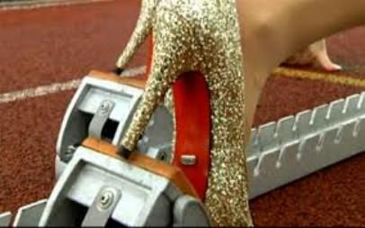 Woman Breaks World Record for 100m run in High Heel