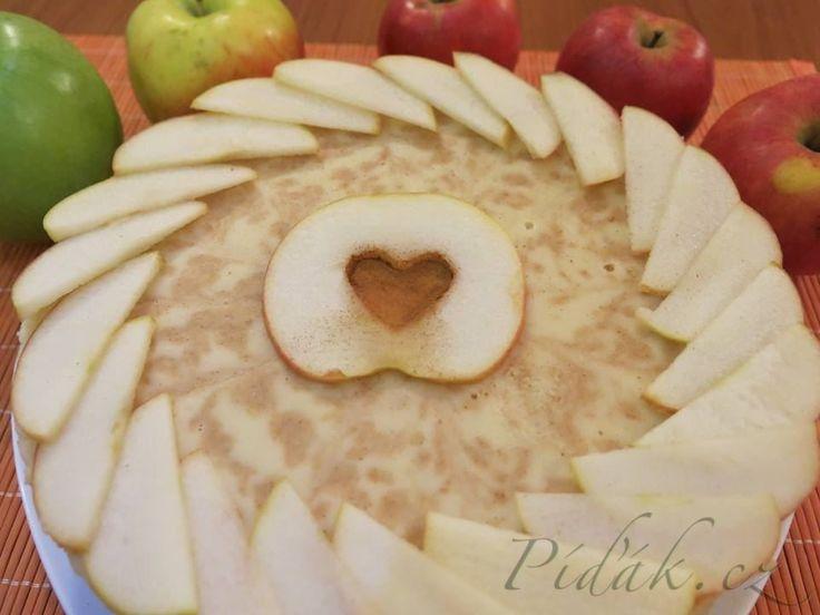 Obrázek z Recept - Jablíčkový dort se skořicí