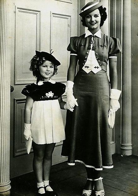 Shirley Temple & Rochelle Hudson