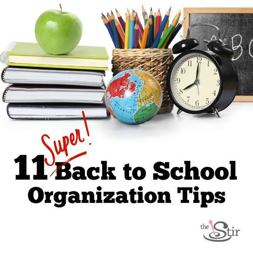 11 genius back to school organization tips you really need photos back to back to school - Back to school organization ...