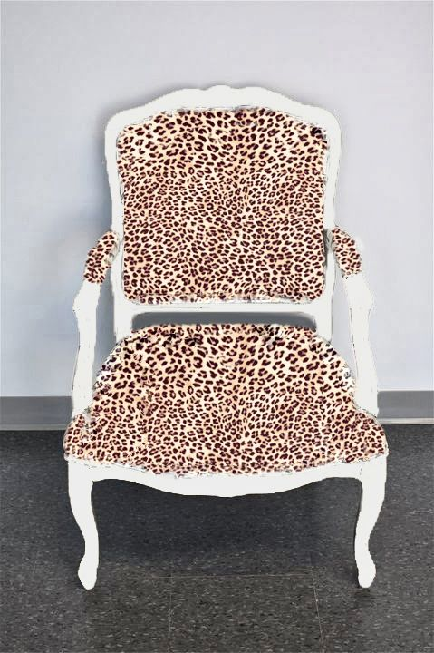 AM Dolce Vita: Louis XV Chair Upholstery Fabric Choices, louis xv chair in leopard velvet upholstery