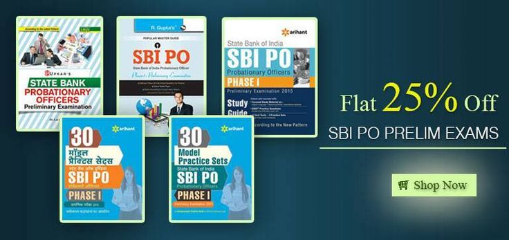 Shop Now SBI PO Priliminary Examination Guide Books Online at 25% Discount .. Click Here.... http://tinyurl.com/njtbhhq