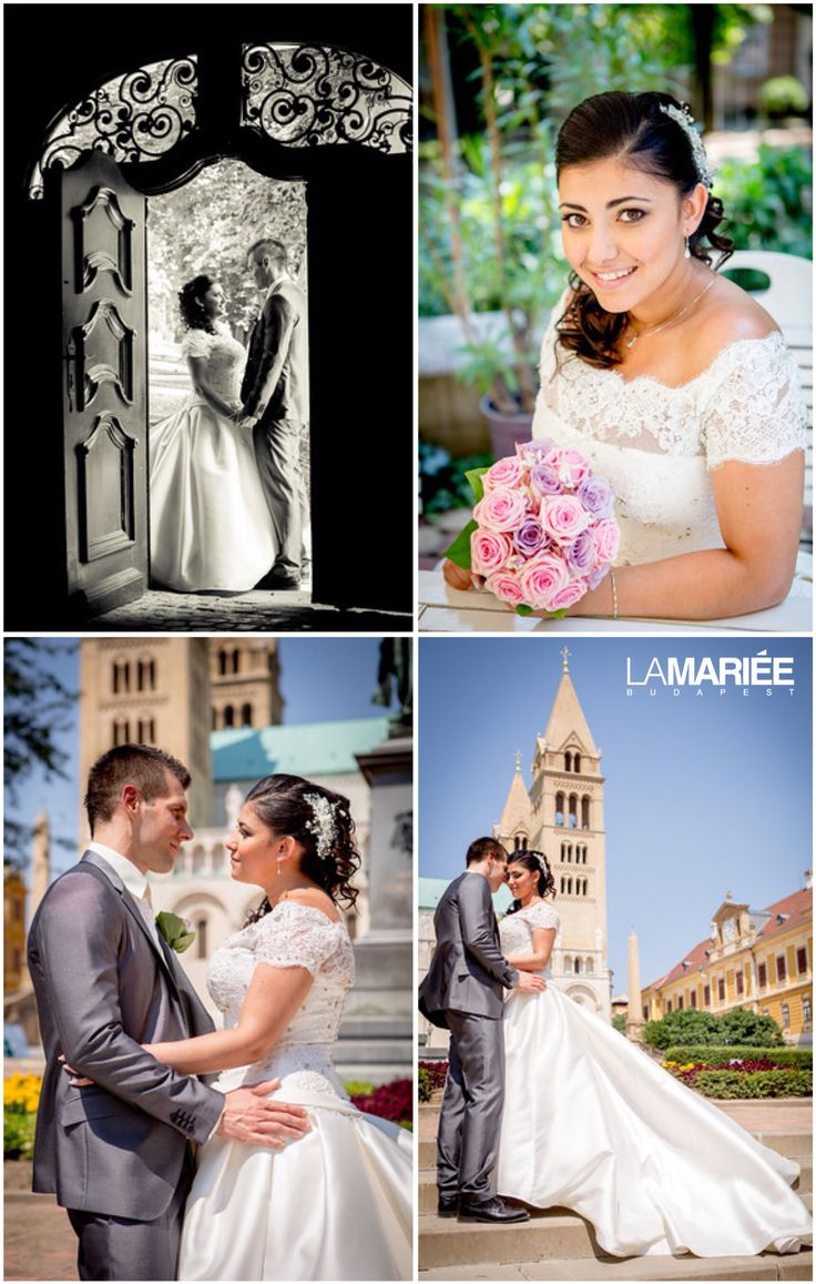 Bandera esküvői ruha - Pronovias kollekció - Rita menyasszonyunk  http://mobile.lamariee.hu/eskuvoi-ruha/pronovias-2015/bandera