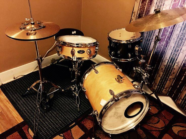 Drum set/ small drum set/ compact drum set