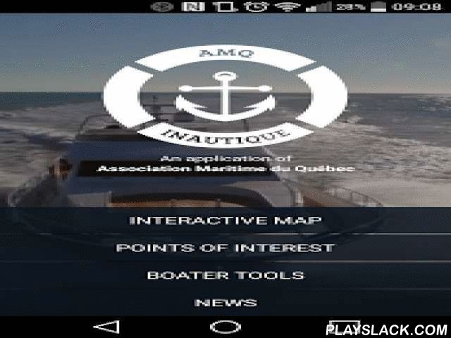 INautique  Android App - playslack.com , Leisure boaters' favorite tool! iNautique is an application specially designed for nautical sports enthusiasts in Quebec. Presented by the Quebec Marine Association (QMA), the application gives you all the information on nautical services and activities in Quebec. Whether you're a boat owner looking for a marina or simply a wake board enthusiast (or any other nautical sport), iNautique will provide you with all the information you need, when and where…