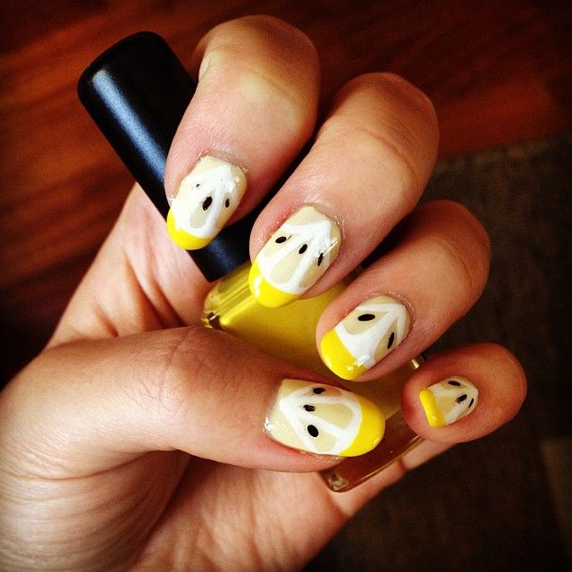Pin for Later: Flaunt Your Dedication to the Beyhive With Lemonade-Inspired Nail Art