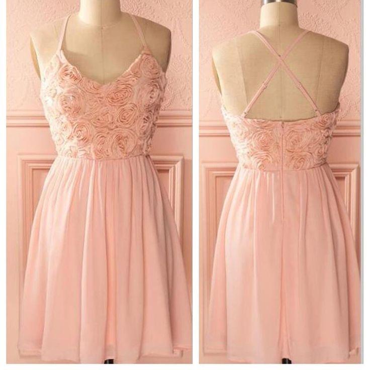 Peach Homecoming Dresses 109