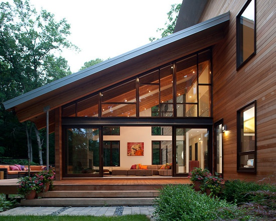 modern sunroom. Modern Four Season Sunroom Design, Pictures, Remodel, Decor And Ideas - Page 2