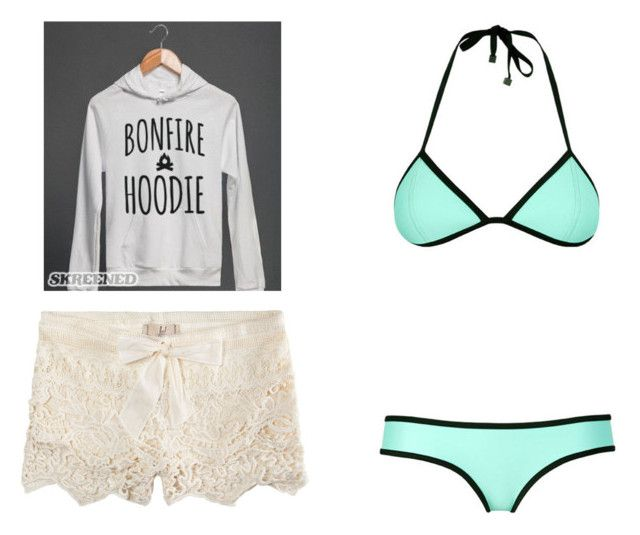 """Swimming with DJ"" by jwpixie ❤ liked on Polyvore featuring ...Lost"