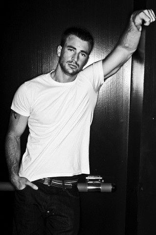 Chris Evans...after reading interviews about him, I think we could be best friends