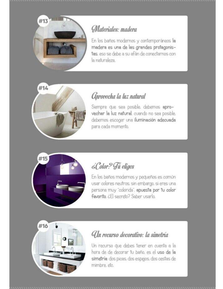 Ideas decoración baños modernos