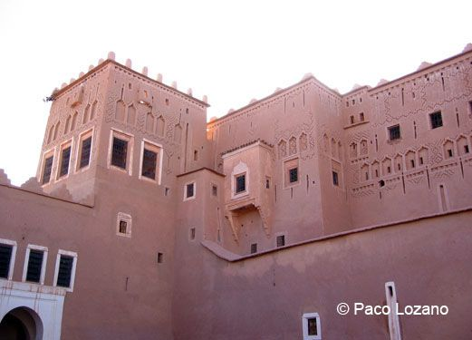 Taourirt kasbah, Morocco : World Travel Pictures