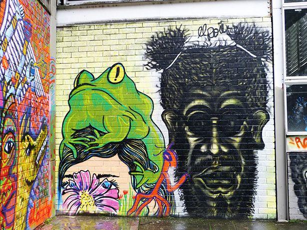 Graffiti Art From Veronica Morales Garcia