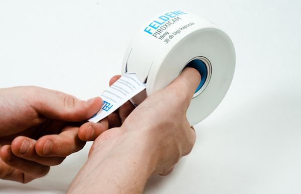 A Concept For Pill Packaging That Allows Easier Retrieval Of Pills by Loke Shi Ying