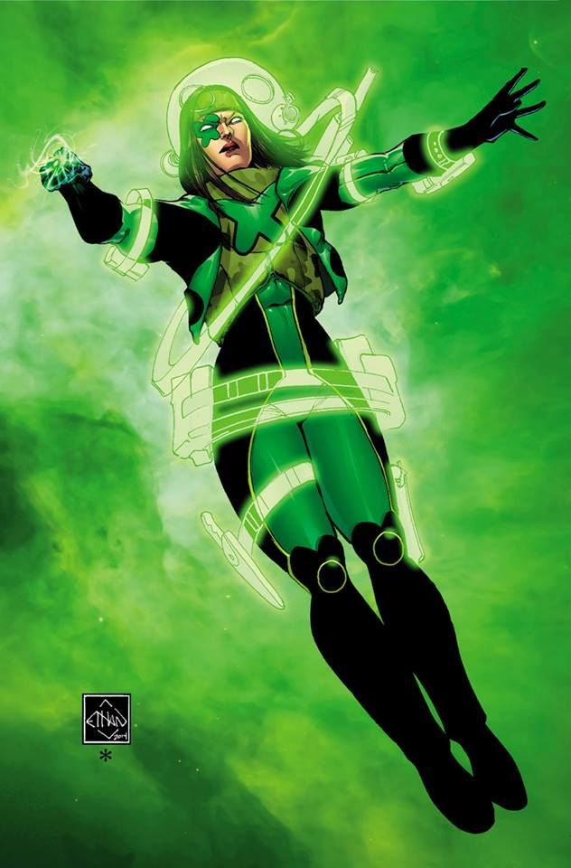Power Ring (Jessica Cruz) by Ethan Van Sciver | Gallery ...
