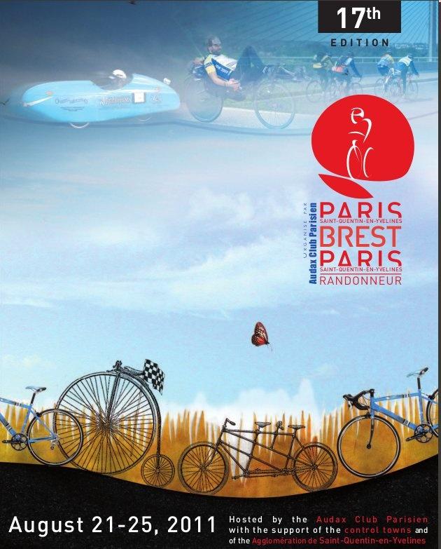 The Next Paris-Brest-Paris is in August, 2015