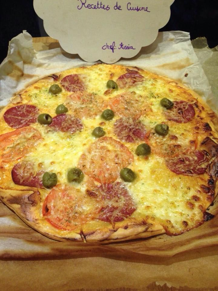 Découvrez notre recette de Pizza au salami
