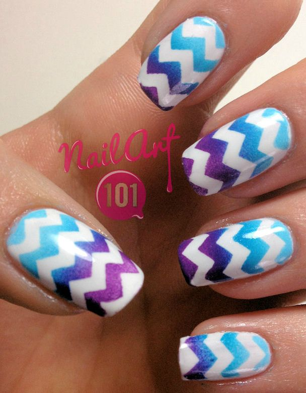 1340 best glitzy nails images on pinterest gel nails nail design tutorial chevron nails easy nail art design want to do it yourself solutioingenieria Gallery