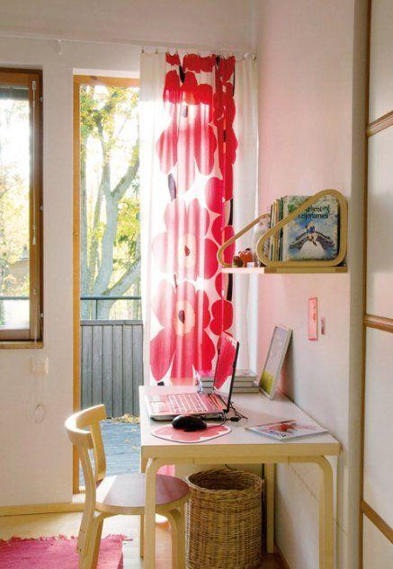 Marimekko Unikko curtains