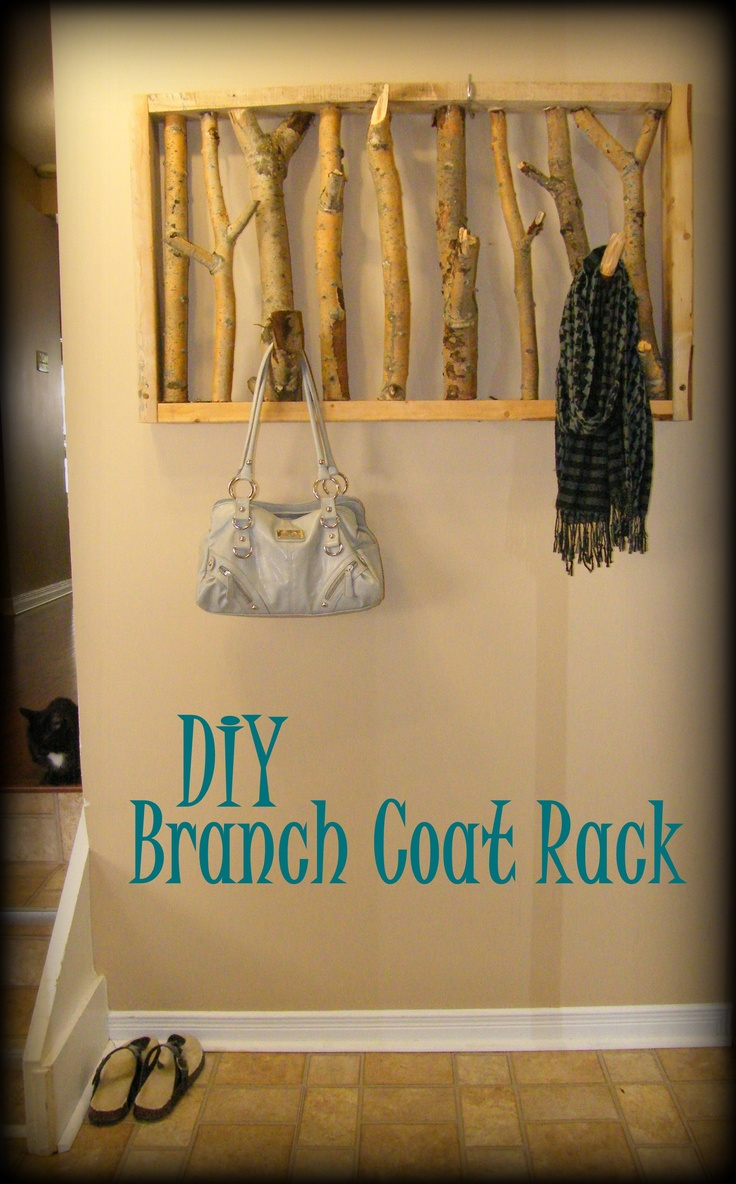 72 best Coat rack diy images on Pinterest | Coat hanger, Coat ...