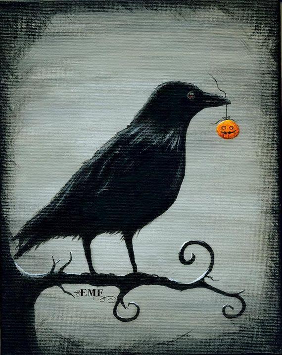 Halloween Art Digital Art The Raven Treasure by onelizziemonster, $ 20.00