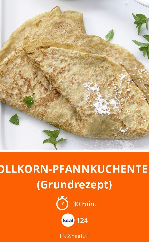 Vollkorn-Pfannkuchenteig - (Grundrezept) - smarter - Kalorien: 124 Kcal - Zeit: 30 Min. | eatsmarter.de