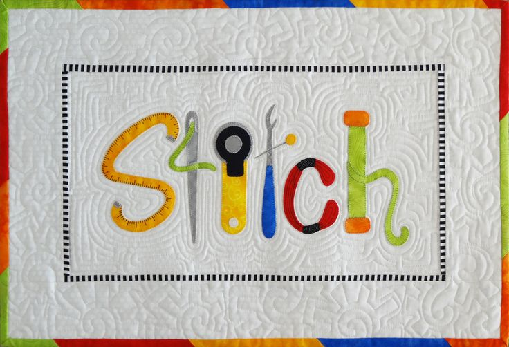 = free pattern = Stitch it Up mini quilt at Hissyfitz Designs. Free with newsletter signup.