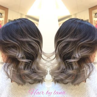 grey balayage short hair , Google Search