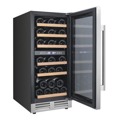 28 Bottle Dual Zone Wine Cooler Primary Image