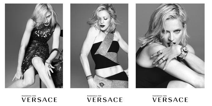 Per la quarta volta Madonna appare nelle campagne adv di Casa Versace negli ultimi tre decenni, non poco non trovate?http://www.sfilate.it/238218/madonnaforversace-scatti-bianco-e-nero-per-la-diva-assoluta