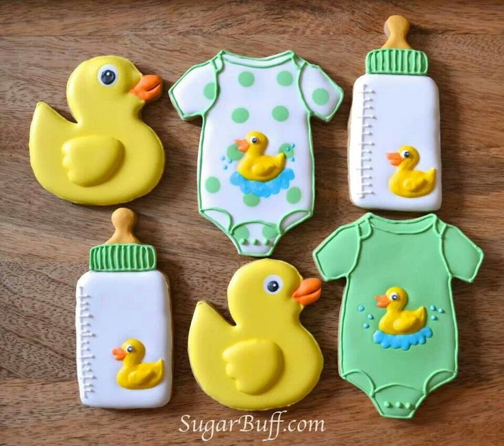 Oh my gosh these are so cute! #cookies #royalicing #babyshower