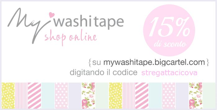 Stregatta Ci Cova ft. My Washi Tape
