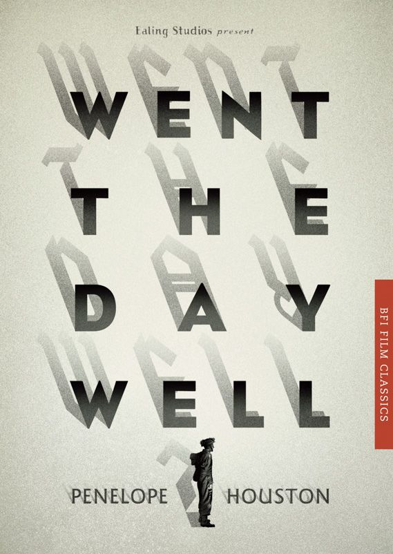 BFI Film Classics. Mark Swan's cover for Went the Day Well? by Penelope Houston