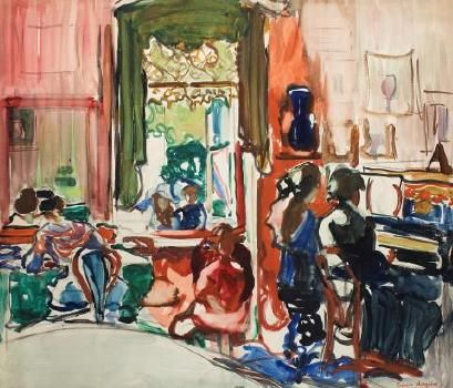 The piano lesson Francis Hodgkins