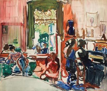 The piano lesson Francis Hodgkins