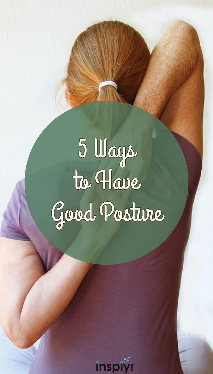 5 Ways to Have Good Posture by Inspiyr.com // Spine health and overall good posture can do wonders for you! See how you can improve your posture! #Inspiyr