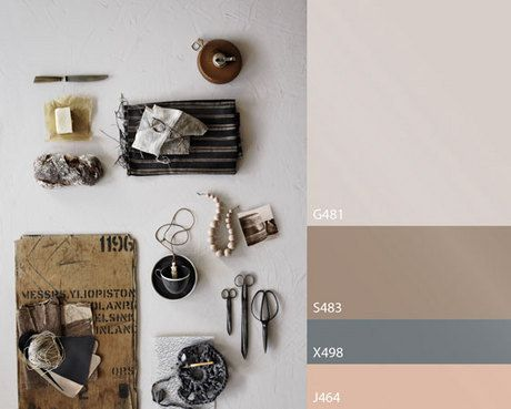 Tikkurila Trend colours 2014 - 2015 - Times gone by