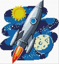 ufo cross stitch patterns - Google Search