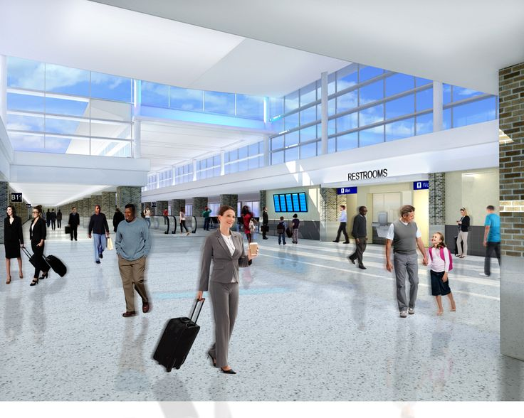 Memphis International Airport (MEM) Concourse B modernization expansion and renovation | Alliiance