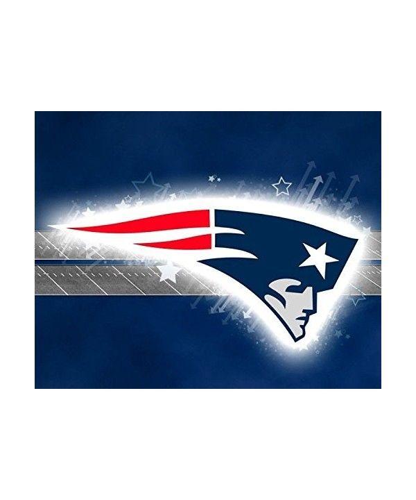 New England Patriots Edible Birthday Cake Image Topper