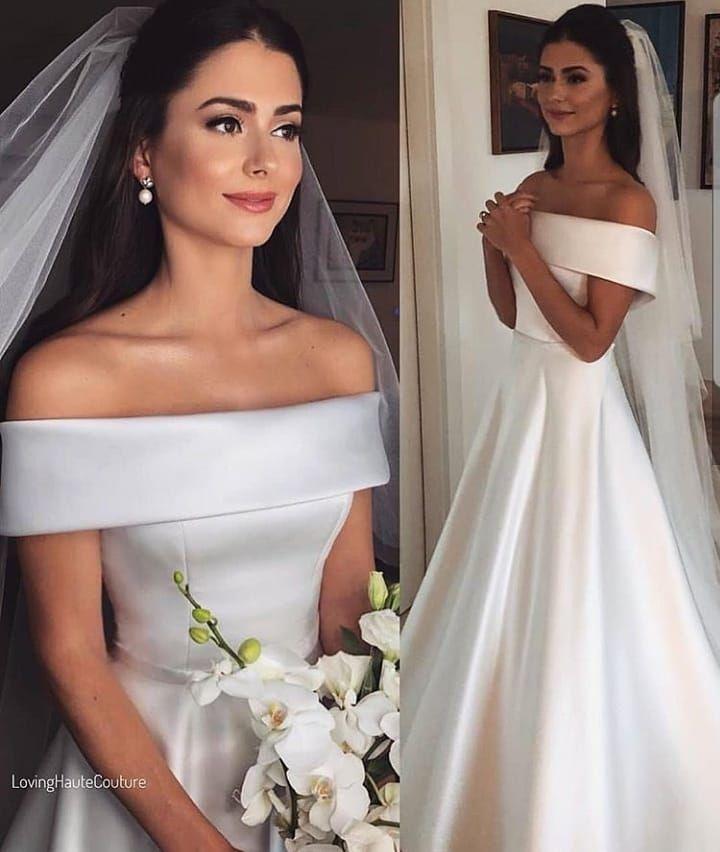 E o tanto que eu Amei esse Vestido? . . . . #noivas#noivaminimalista#varzeagrand…