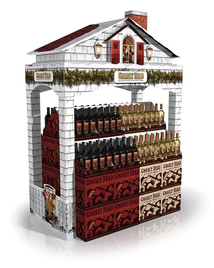 PLV box bouteilles