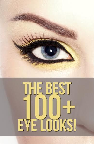 The Best 100+ Eye Tutorials on Pinterest! #Eyes #eyemakeup #howto #tutorials - bellashoot.com