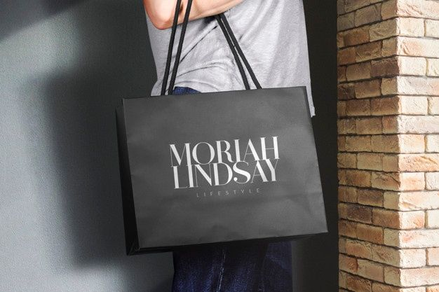 Download Logo Mockup Shopping Bag Logo Mockup Mockup Branding Mockups